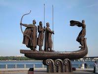 Київ. Пам*ятник Засновникам Києва - - Кій, Щек, Хорів та Либідь